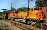 BNSF 4122 on K040 crude oil train